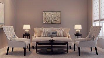 Online design Transitional Living Room by Mladen C thumbnail