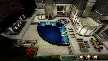 Online design Traditional Patio by Ana I. thumbnail
