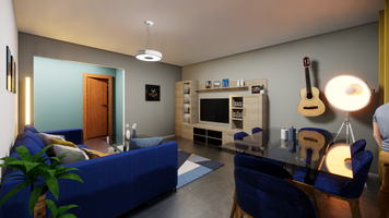Online design Eclectic Living Room by Fereshteh H. thumbnail