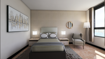 Online design Traditional Bedroom by Ana L. thumbnail