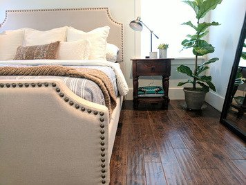 Online design Transitional Bedroom by Muna S. thumbnail