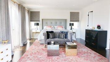 Online design Glamorous Bedroom by Lauren B. thumbnail