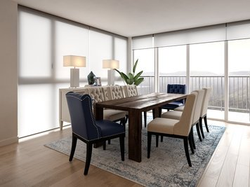 Online design Transitional Dining Room by Rachel H. thumbnail