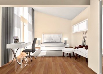 Online design Contemporary Bedroom by Noraina Aina M. thumbnail