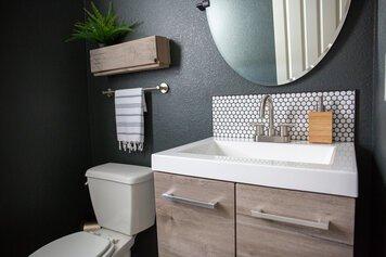 Online design Modern Bathroom by Alyssa H. thumbnail