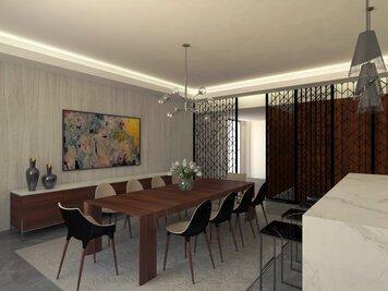 Online design Modern Dining Room by Farah H. thumbnail