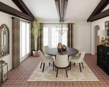 Online design Transitional Dining Room by Lynda N thumbnail