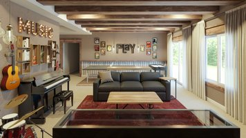 Online design Eclectic Living Room by Tera S. thumbnail