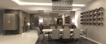 Online design Contemporary Dining Room by mujtaba m. thumbnail