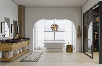 Online design Transitional Bathroom by Erin R. thumbnail