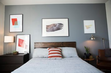 Online design Contemporary Bedroom by Michelle B. thumbnail