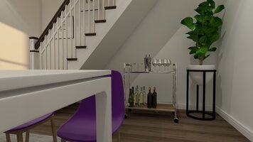 Online design Eclectic Dining Room by Chante F. thumbnail