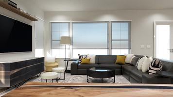 Online design Modern Living Room by Taron H. thumbnail