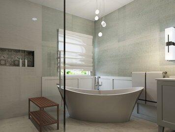 Online design Modern Bathroom by Lynda N thumbnail