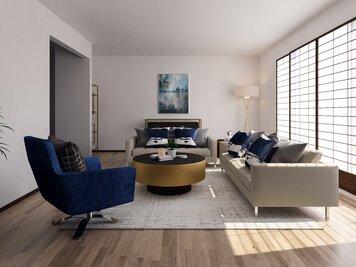 Interior design sample by Tijana Z.