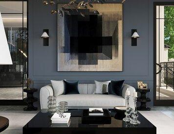Online design Glamorous Living Room by Nathalie I. thumbnail