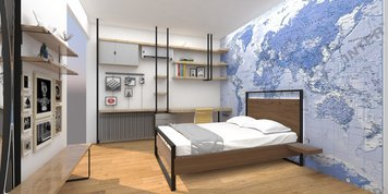 Online design Contemporary Bedroom by Vanessa A. thumbnail