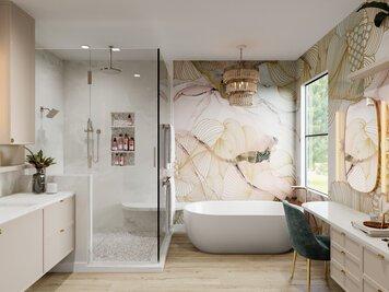Online design Beach Bathroom by Betsy M. thumbnail