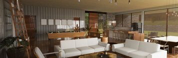 Online design Traditional Living Room by Jose S. thumbnail