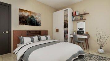 Online design Contemporary Bedroom by Pratiksha K. thumbnail