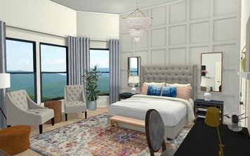 Online design Eclectic Bedroom by Krystyna A. thumbnail
