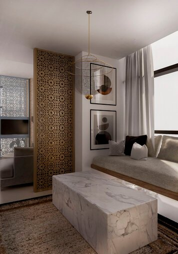 Online design Contemporary Living Room by Nora B. thumbnail