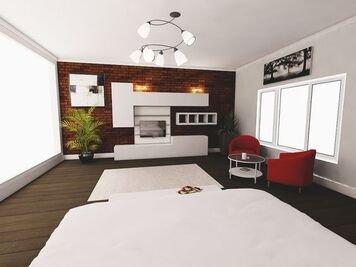 Online design Modern Bedroom by Jas D. thumbnail