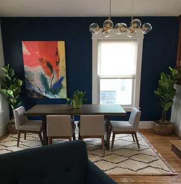 Online design Contemporary Dining Room by Nicolle E. thumbnail