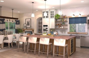 Online design Transitional Kitchen by Brittany J. thumbnail