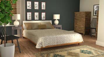 Online design Eclectic Bedroom by Tabitha M thumbnail