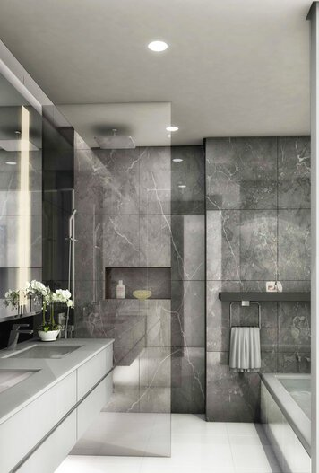 Online design Contemporary Bathroom by Nora B. thumbnail