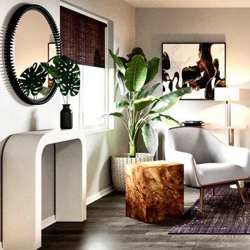 Online design Modern Living Room by Berkeley H. thumbnail