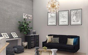 Online design Modern Living Room by Ani K. thumbnail