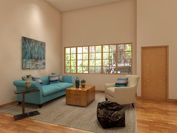 Online design Contemporary Living Room by Eileen P. thumbnail