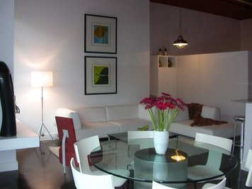 Online design Contemporary Combined Living/Dining by Susan C. thumbnail