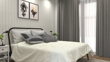 Online design Country/Cottage Bedroom by Aida A. thumbnail