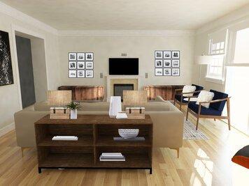 Online design Modern Living Room by Vera B. thumbnail