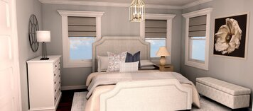 Online design Country/Cottage Bedroom by Theresa W. thumbnail
