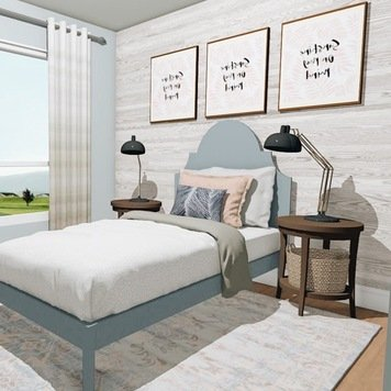 Online design Transitional Bedroom by Krystyna A. thumbnail
