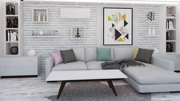 Online design Modern Living Room by Selma A. thumbnail
