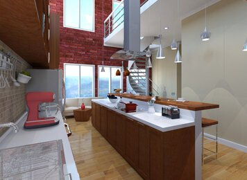 Online design Contemporary Kitchen by Sheena C. thumbnail