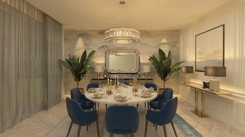Online design Contemporary Dining Room by Salma o. thumbnail