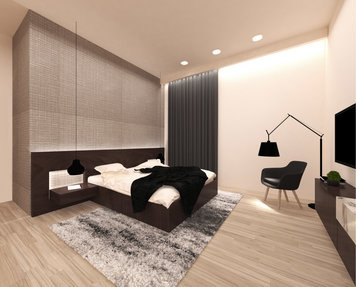Online design Modern Bedroom by aly a. thumbnail