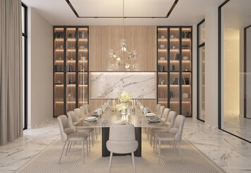 Online design Glamorous Dining Room by Hatice U. thumbnail