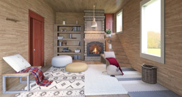 Online design Country/Cottage Living Room by Jennifer S. thumbnail