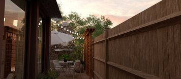 Online design Transitional Patio by Theresa W. thumbnail