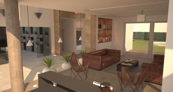 Online design Contemporary Living Room by Chiara B. thumbnail