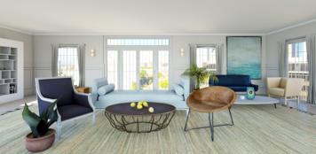 Online design Transitional Living Room by Jennifer S. thumbnail