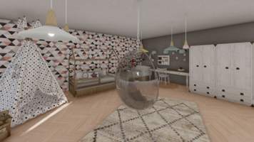 Online design Country/Cottage Kids Room by Seda G. thumbnail