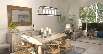 Online design Beach Combined Living/Dining by Brittany J. thumbnail
